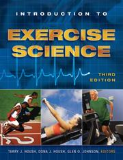 Cover of: Introduction to Exercise Science