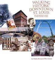 Cover of: Walking Historic Downtown St. Louis