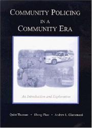 Cover of: Community Policing in a Community Era