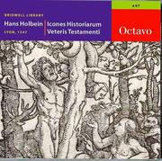 Cover of: Icones Historiarum Veteris Testamenti