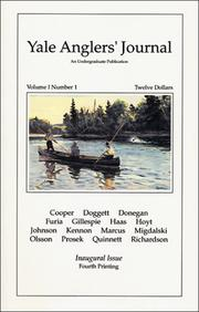 Cover of: Yale Anglers' Journal