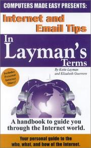Cover of: Internet and Email Tips in Layman's Terms