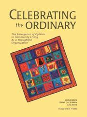 Cover of: Celebrating the Ordinary