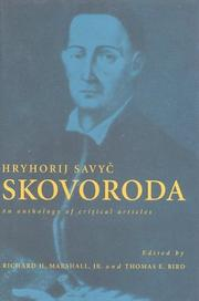 Cover of: Hryhorij Savyc Skovoroda