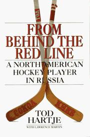 Cover of: From Behind the Red Line