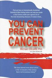 Cover of: You Can Prevent Cancer