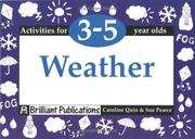 Cover of: Weather (Activities for 3-5 Year Olds Series)