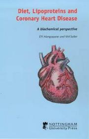 Cover of: Diet, Lipoproteins and Coronary Heart Disease
