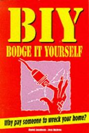 Cover of: Bodge It Yourself