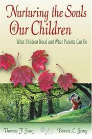 Cover of: Nurturing the Souls of our Children