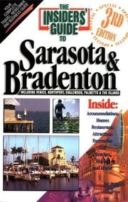 Cover of: The Insiders' Guide to Sarasota & Bradenton