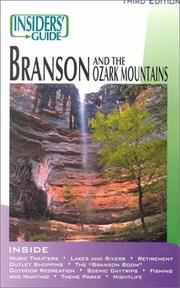 Cover of: The Insiders' Guide to Branson and Ozark Mountains