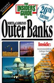 Cover of: The Insiders' Guide to North Carolina's Outer Banks--20th Edition