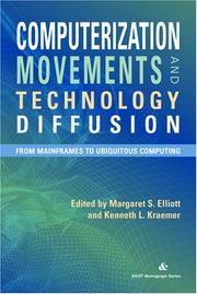 Cover of: Computerization Movements and Technology Diffusion