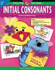 Cover of: School to Home Phonics Initial Consonants