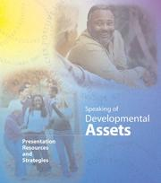 Cover of: Speaking of Developmental Assets