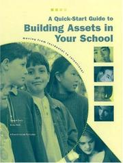 Cover of: A Quick-Start Guide to Building Assets in Your School