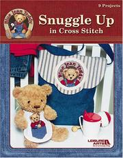 Cover of: Blue Jean Teddy Snuggle Up in Cross Stitch (Leisure Arts #3763)