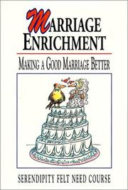 Cover of: Marriage Enrichment