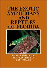 Cover of: Exotic Amphibians and Reptiles of Florida