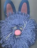 Cover of: Blue Rabbit (Mop Tops)