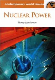 Cover of: Nuclear Power