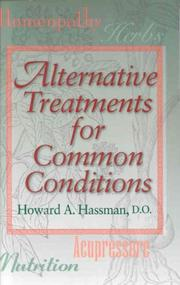 Cover of: Alternative Treatments for Common Conditions