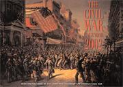 Cover of: The Civil War Calendar 2002