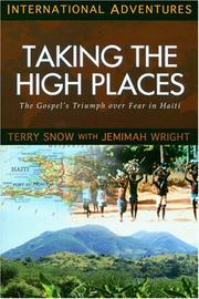 Cover of: Taking the High Places