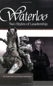Cover of: Waterloo:Two Styles of Leadership