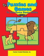 Cover of: Puzzles and Games to Reinforce Basic Skills