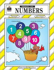 Cover of: Numbers Thematic Unit