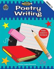 Cover of: Poetry Writing, Grades 1-2 (Meeting Writing Standards Series)