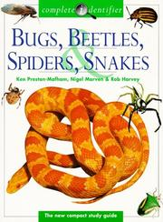 Cover of: Bugs, Beetles, Spiders, Snakes (Complete Identifier)