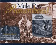 Cover of: Mule Day Remembered
