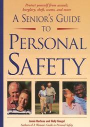 Cover of: A Senior's Guide to Personal Safety