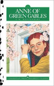 Cover of: Anne of Green Gables (Dalmatian Press Adapted Classic)