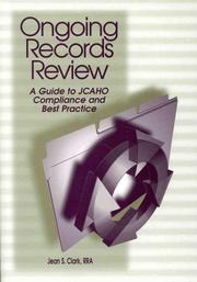 Cover of: Ongoing Records Review