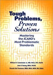 Cover of: Tough Problems, Proven Solutions