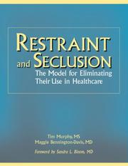 Cover of: Restraint And Seclusion
