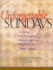 Cover of: Unforgettable Sundays