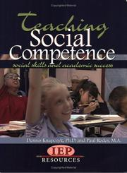 Cover of: Teaching Social Competence