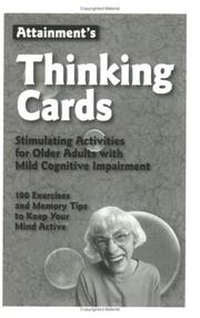 Cover of: Attainment's Thinking Cards