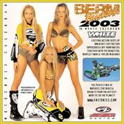 Cover of: Berm Busters 2003 Motocross Racing & Pinup Model Calendar
