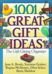 Cover of: 1001 Great Gift Ideas