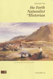 Cover of: The Forth Naturalist and Historian