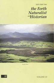 Cover of: The Forth Naturalist and Historian (The Forth Naturalist and Historian)