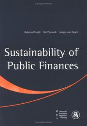 Cover of: Sustainability of Public Finances