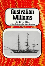 Cover of: Australian Williams
