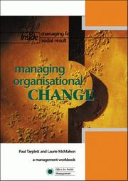Cover of: Managing Organisational Change (Inside Managing for Social Result)